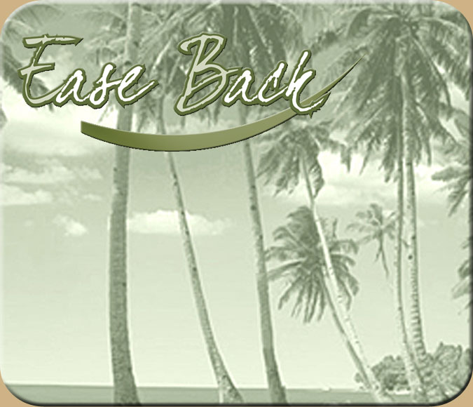 easebase calming palm trees logo to assist with your massage therapy